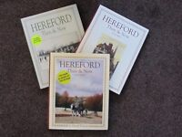 HEREFORD THEN AND NOW BOOKS VOLUMES 1 ,2 and 3