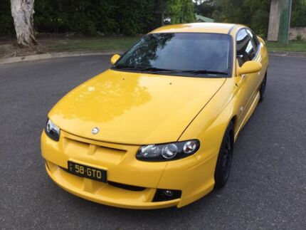 2002 HSV GTO Coupe 5.7Lt V8 6 Spd Manual Devil Yellow Only 58Kms Aspley Brisbane North East Preview