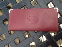 Cartier card wallet