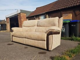 3 Seater sofa, couch Excellent condition