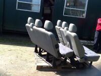 Sets of seats ..