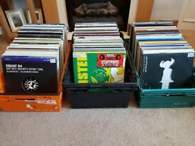 500 House Vinyl Records, Funky, Deep, Tech, Minimal House, 12 inch LP Collection, Job Lot, Good Cond