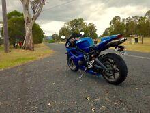 2008 Triumph Daytona 675 Blue Super Sport Motorcycle Road Grange Brisbane North West Preview