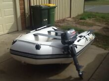 Tender and motor Cooloongup Rockingham Area Preview