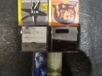 REM 3cd albums and 2cd singles