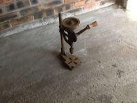 VINTAGE HAND OPERATED BENCH PILLAR DRILL MACHINES