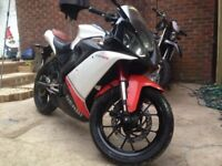 Derbi Gpr 125 cc 2010 Sports Bike 4 Stroke Stunning Motorbike Mot January 2019 Very Good Condition