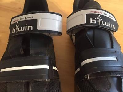 Chaussure de cyclisme *B TWIN* pointure 43 en très bon état