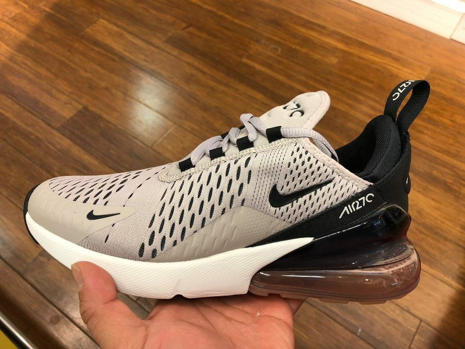 really comfortable huge inventory hot new products Nike Womens W Air Max 270 Pewter Moon Particle White Black ...