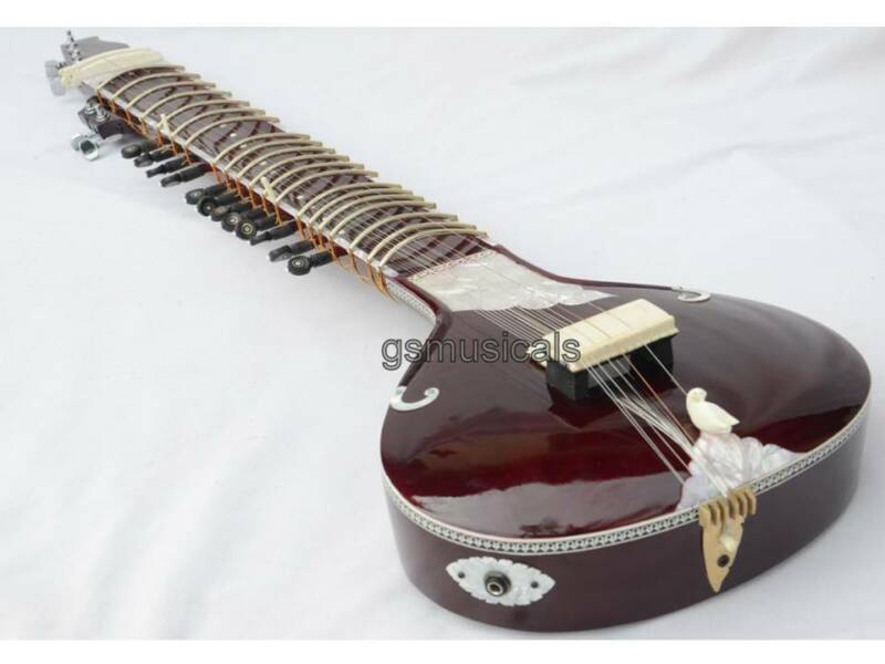SITAR ULTRA FUSION ELECTRIC WITH GIG BAG GSM068G C