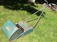 Vintage qualcast push lawnmower