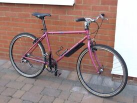 MENS RETRO 1990S RALEIGH MOUNTAIN BIKE FOR SALE IN GOOD WORKING ORDER