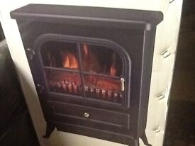 New boxed electric living flame effect stove fire