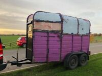 Project horse trailer for sale