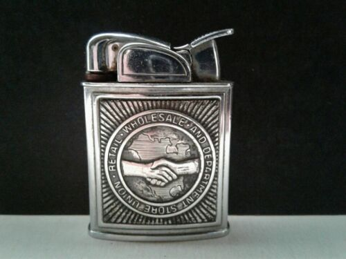 Vintage Retail Wholesale Labor Union Promotional EVANS Spitfire Pocket Lighter P