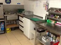 5* rated small kitchen in shared premises .Ideal for small sandwich business ect