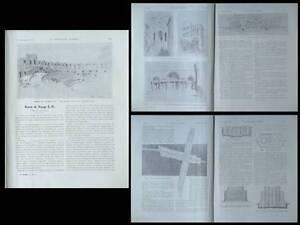 CONSTRUCTION MODERNE n°11 1925 JEAN-BAPTISTE HOURLIER, GARAGES PARIS - France - Librr La Construction moderne - n11 - 1925 contient neuf pages sur des dessins de J. B. Hourlier, six pages sur des projets de garages Paris . nombreux plans et photographies en noir et blanc 24,5 x 31,5 cm - 16 pages bon état (aucune annotation - France