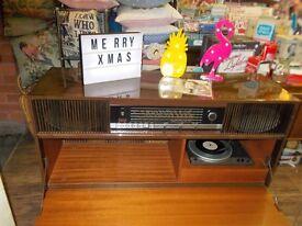 Vintage retro 1960s Stereogram record player.