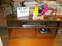 Vintage retro 1960s Stereogram record player.