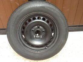 Volkswagen touran wheel