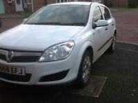 Vauxhall Astra special CDTi,5 door hatchback,good condition,6months road tax,new MOT,white £1195ono