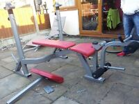 Heavy duty Optima Press bench press