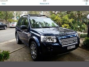 Land Rover Freelander Si6 HSE Cammeray North Sydney Area Preview