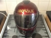 NOVAC helmet. Size L