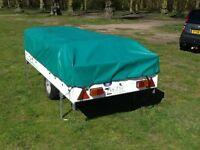 Suncamp trailer tent