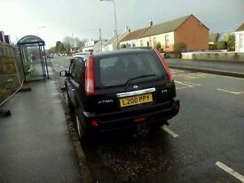 ALL REPAIRS HAVE BEEN DONE NISSAN XTRAIL 2.5SVE 4X4 BARGAIN BUY MUST SEE !