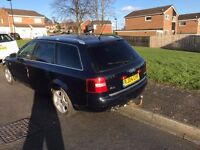2004 AUDI A6 TDI FULL LEATHER INTERIOR,TOW BAR,SPARES OR REPAIRS
