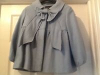 Beautiful Wool Coat with Bow detail