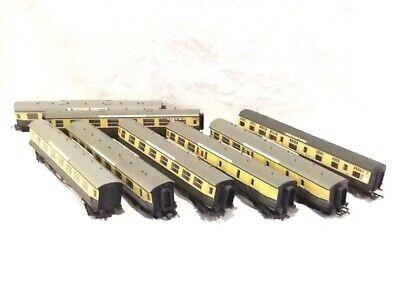 00 gauge Rake of 7 Airfix/ Hornby centenery coaches+ restaurant car vgc
