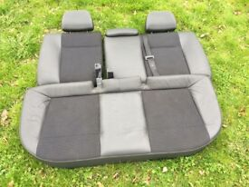 Vauxhall Astra VXR half leather rear seats