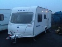 2009 Bailey ranger 500/5 berth double DINNETTE with awning