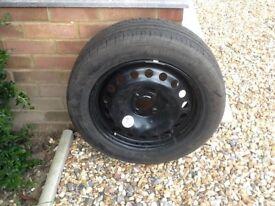 Spare wheel for Renault Megane 08 Reg