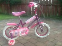 Girl's 10 inch bicycle