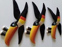 Carlton Ware Original Guinness Toucan Wall Plaques