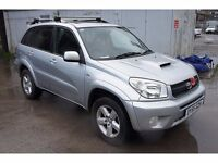 TOYOTA RAV 4 XT-R D-4D ESTATE, 1995cc, 5 Doors **ONE PREVIOUS OWNER**SERVICE HISTORY**P/X TO CLEAR**