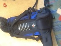 Rucksack for travelling