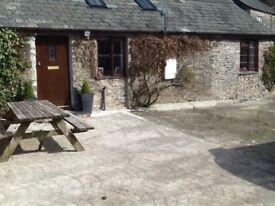 1 bed barn conversion to let nr Milton Abbot, easy access to Tavistock, Launceston & A30