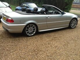 BMW 3 Series 330 CD SPORT CONVERTIBLE (aluminium silver) 2006