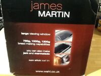James Martin breadmaker, use it overnight for fresh bread!!