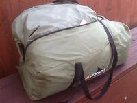 Vango Icarus 500 five man tent in green