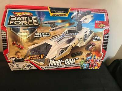 Hot Wheels Battle force 5 Mobi - Com Mobile Command Center BNIB