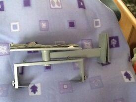 TV wall bracket with shelf
