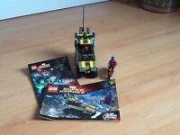Lego Super Heroes (76017) - Capt America vs Hydra