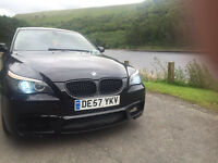 BMW 5 SERIES 2008 520D LCI 235BHP *M5 F10 BODY KIT* *FULLY LOADED*