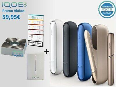 IQOS 3.0 Starter Paket mit 100 HEET´s nach Registrierung