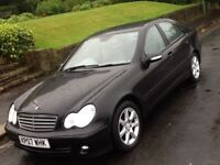 2007 MERCEDES C180 CLASSIC SE AUTOMATIC SALOON IN SUPERB CONDITION